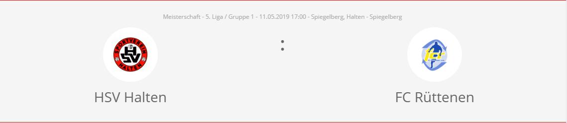 Update: Match findet neu am Mittwoch, 15. Mai 2019, 20:00 statt
