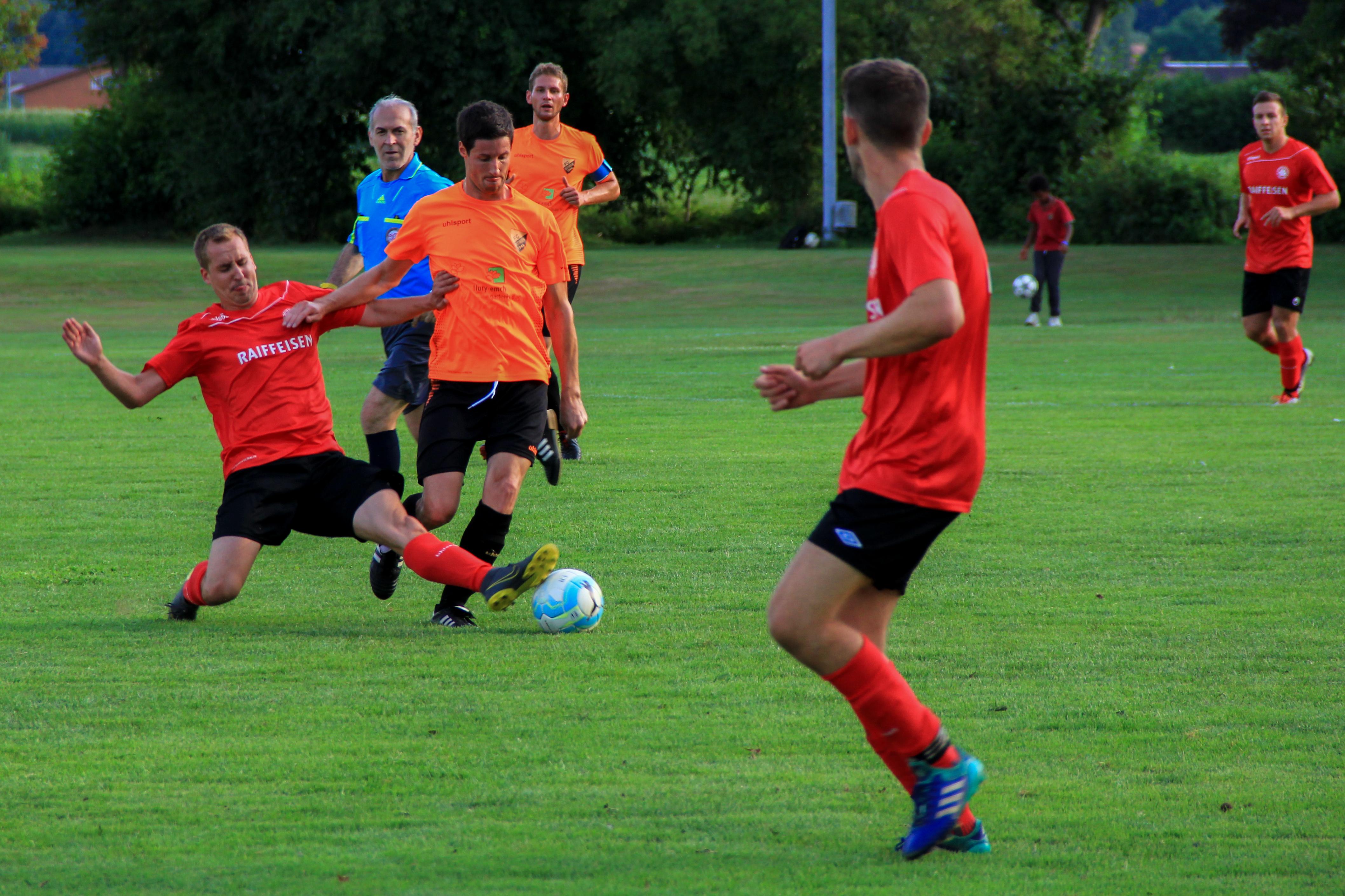 Impressionen vom 2-2 Remis gegen den FC Deitingen am 3. Wasserämter Cup in Gerlafingen